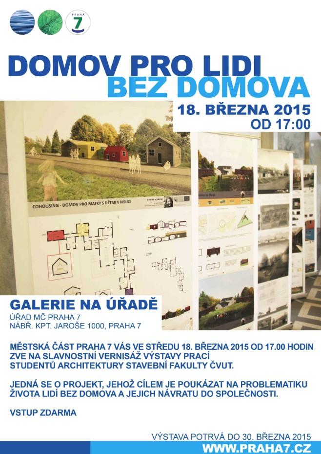 Výstava Domov pro lidi bez domova