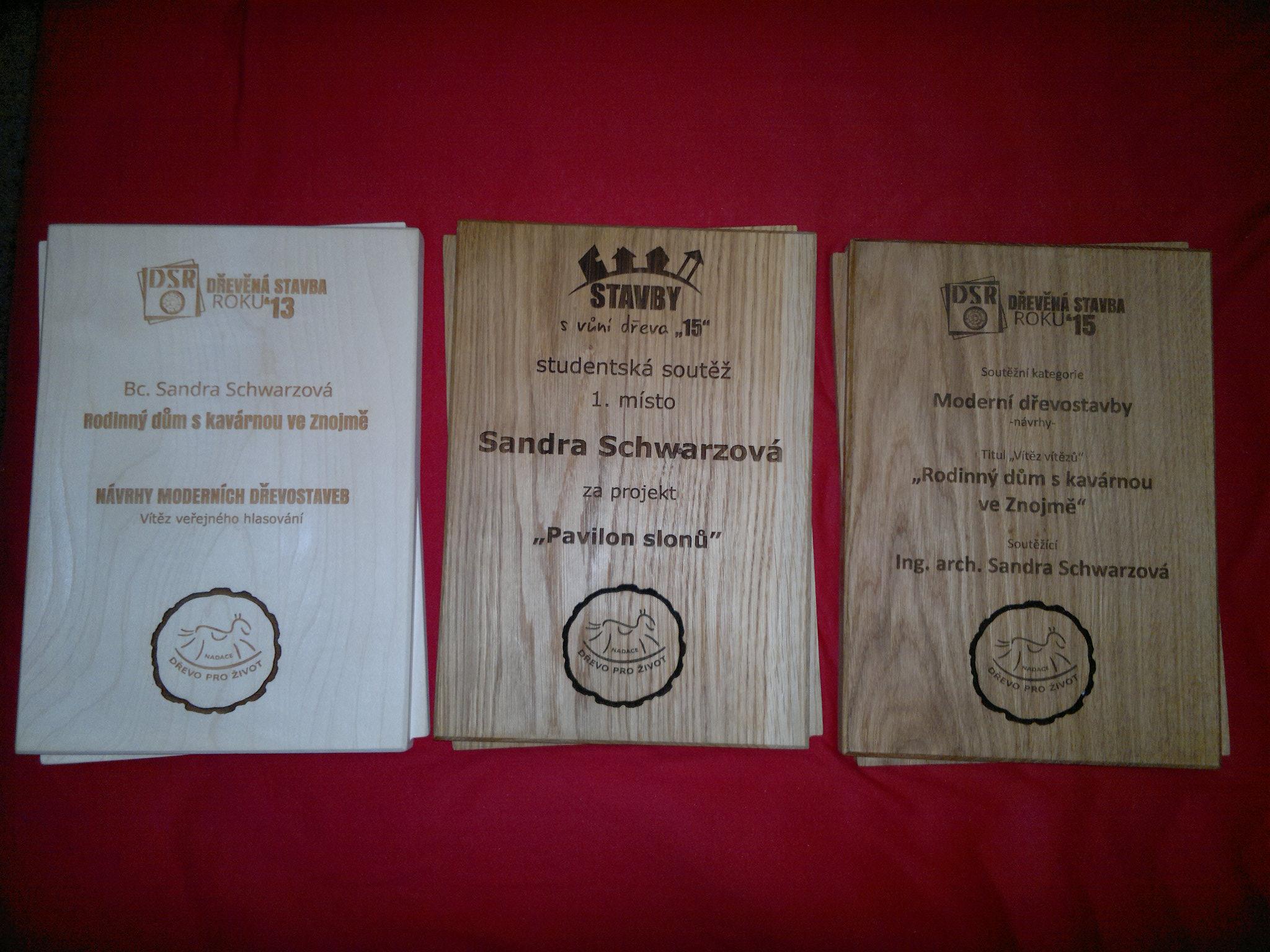 Úspěch v soutěži Dřevěná stavba roku 2015