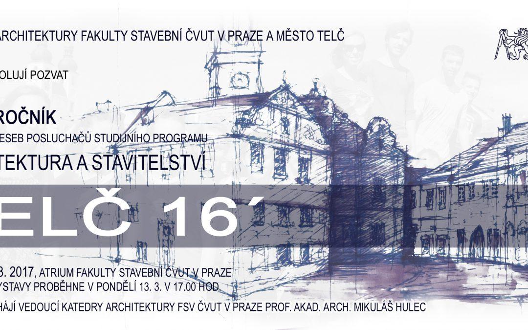 Výstava kreseb Telč '16