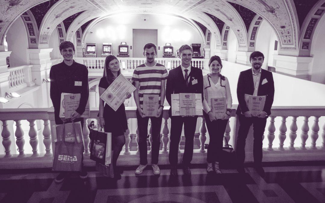Úspěch studentů A+S v soutěži Stavby s vůní dřeva 2017