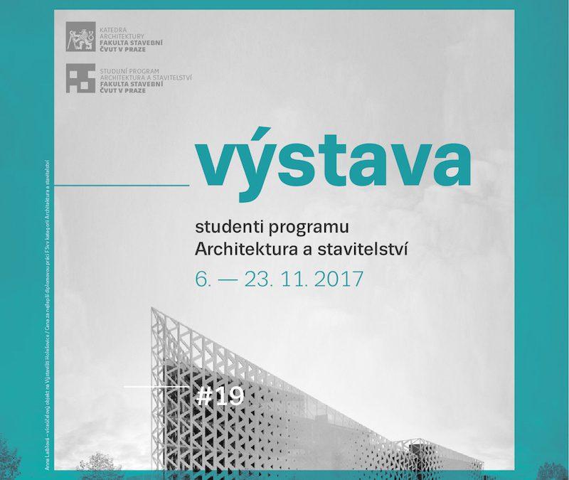 Výstava Studenti programu Architektura a stavitelství