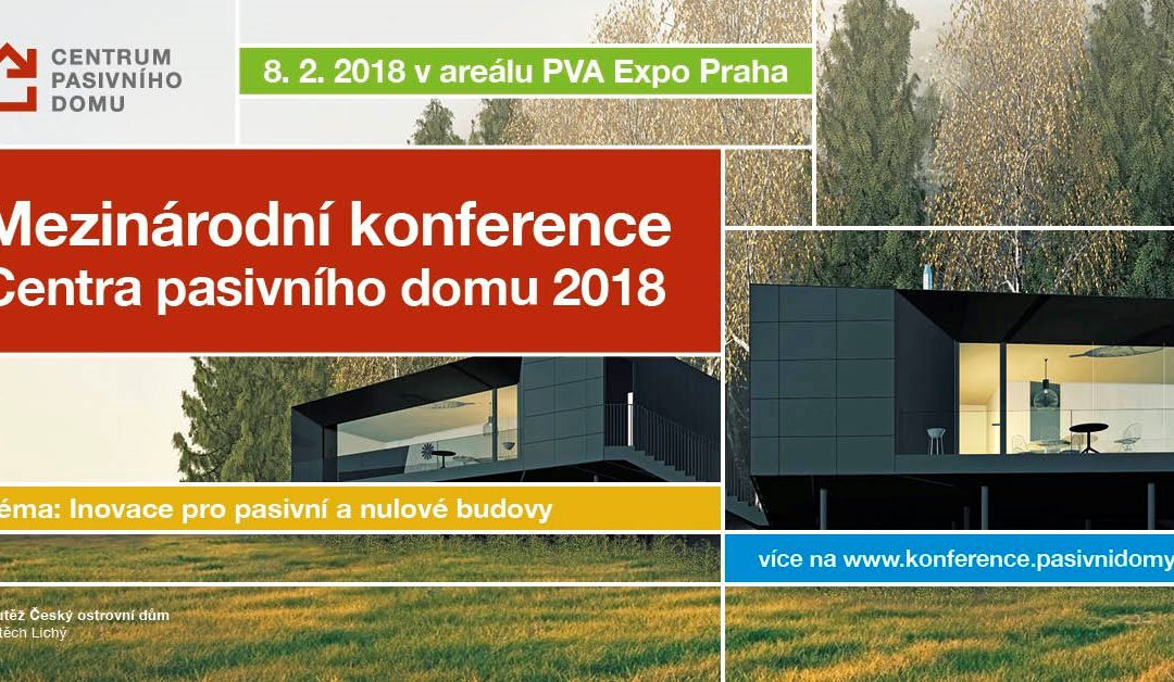 Konference Centra pasivního domu – zdarma pro 20 studentů