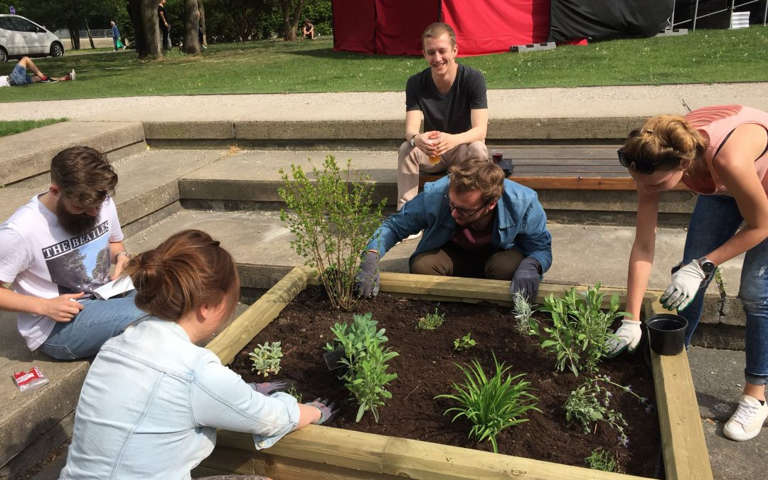Zahrada pro fakultu – workshop a soutěž #2