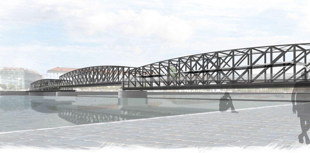 Most na Výtoni v projektech studentů A+S