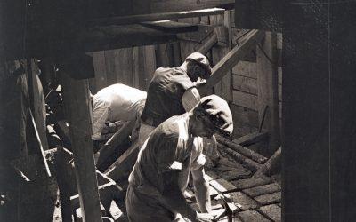 Workshop podlahové konstrukce19. a počátku 20. století